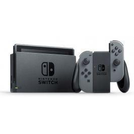 Nintendo konsola Switch + kontrolery Joy-Con szare