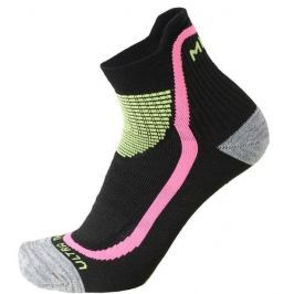 Mico Calza Ultra Trail Running Nero Fucsia Flu S