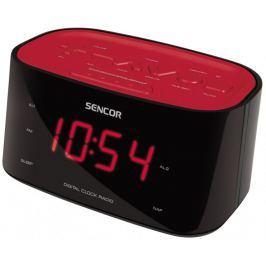 SENCOR radiobudzik SRC 180 RD, Czerwony