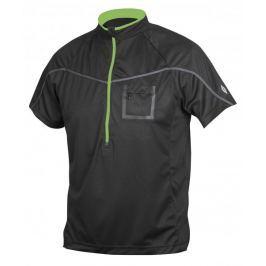 Etape koszulka rowerowa męska Polo black/green L