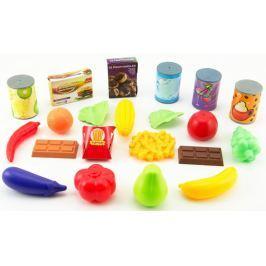 Teddies Owoce i warzywa do zabawy 60 sztuk