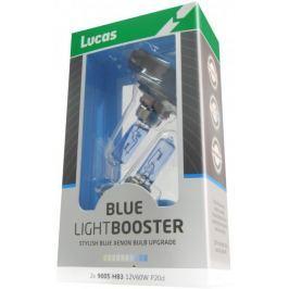 Lucas żarówki samochodowe LightBooster H1 12V 55W Blue - 2 sztuki