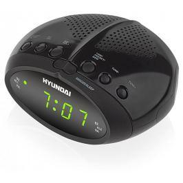 HYUNDAI Radiobudzik RAC 213 Czarny