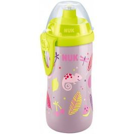 Nuk FC Láhev PP Junior Cup 300ml, push-pull pítko fioletowy
