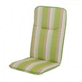 Doppler Bonn poduszka na krzesło biały/zielony