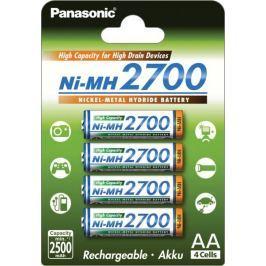 Panasonic 4x akumulatorki R6/AA 2700 mAh