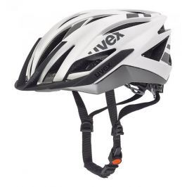 Uvex kask rowerowy Ultra Snc White-Silver Mat 52-56