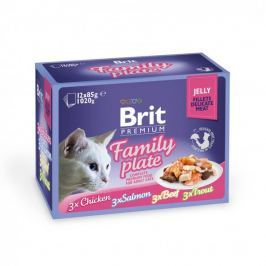 Brit Premium Cat Delicate Jelly Dinner Plate 12x85g