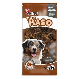 Akinu przysmak dla psa Suszona wołowina 500 g