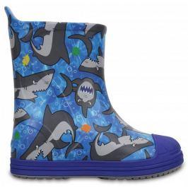 Crocs Kalosze Bump It Graphic Blue