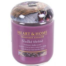 Albi Heart&Home Świeca Słodka czereśnia, duża