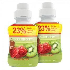 Sodastream Syrop Green IceTea Kiwi/Truskawka 2x 750 ml