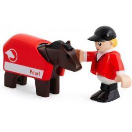 Brio jeździec + koń 33793