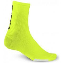 Giro skarpetki HRC Team Hi Yellow/Black L