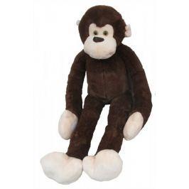 Mac Toys Pluszowa małpka z długimi łapkami, ciemnobrązowa 100 cm