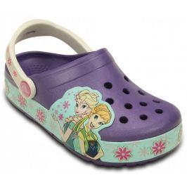 Crocs buty CrocsLights FrozenFever Clog K Blue Violet 23-24 (C7)