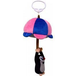 MÚ BRNO Pozytywka ze sznurkiem Krecik z parasolem