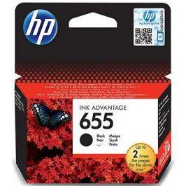 HP tusz oryginalny 655 - Czarny (CZ109AE)