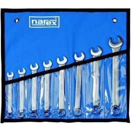 Narex zestaw kluczy płasko-oczkowych, 8 elementów (443000718)