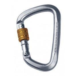 Singing Rock karabinek D Steel Screw Lock