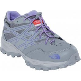 The North Face Buty Jr Hedgehog Hiker Wp Q-silver grey/Paisley purple 33,5