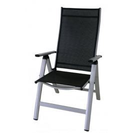 Rojaplast krzesło LONDON silver-black