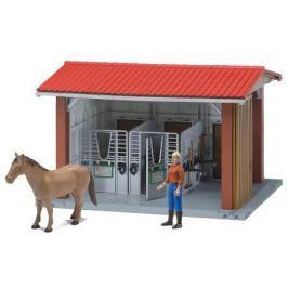 BRUDER Stajnia z koniem, koniuszą i akcesoriami