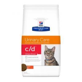 Hill's Prescription Diet c/d Feline Urinary Stress, kurczak, 8 kg