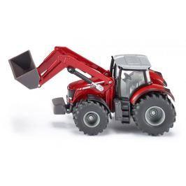 SIKU Farmer - Traktor Massey Ferguson z ładowarką 1:50