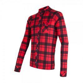 Sensor koszulka rowerowa Dres Square Black/Red M