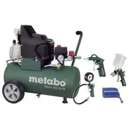 Metabo sprężarka Basic 250-24 W + LPZ 4 Set