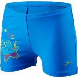 Speedo Kąpielówki Sea Squad Placement Aquashort Neon Blue/Japan Blue/Risk Red 3