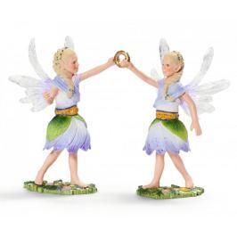 Schleich Świat elfów bliźniaki