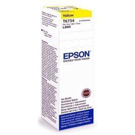 Epson tusz T6734, żółty (C13T67344A)
