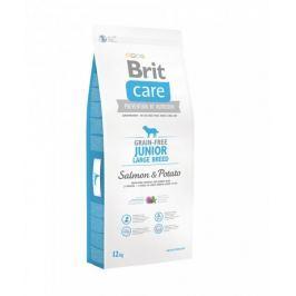 Brit sucha karma dla psa Care Grain-free Junior Large Breed Salmon & Potato 12kg