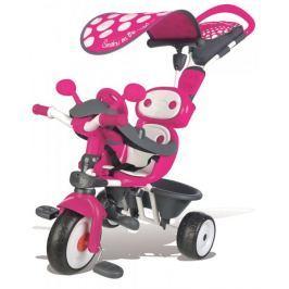 Smoby Tříkolka Baby Driver Confort, stříška różowy