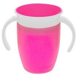 MUNCHKIN Miracle 360° Trainer Cup 207 ml, różowy