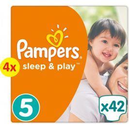 Pampers Pieluchy Sleep&Play Economy 5 Junior - 4x42 szt.