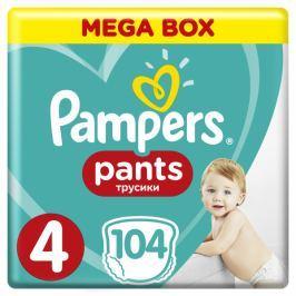 Pampers Pieluchomajtki Active Baby Pants 4 Maxi - Mega Box (104 szt.)