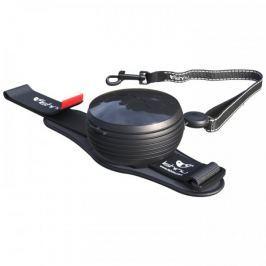Lishinu Smycz Light Lock dla psów i kotów do 8 kg, czarna