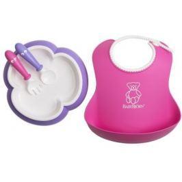 Babybjörn Zestaw do jedzenia, Pink/Purple
