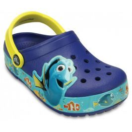 Crocs buty CrocsLights Finding Dory Clog K Cerulean Blue/Lemon 23-24 (C7)