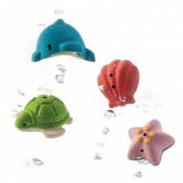 Plan Toys Zabawki do kąpieli - zwierzątka morskie - PLTO-5658