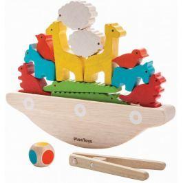 Plan Toys Balansująca łódka PLTO-5136