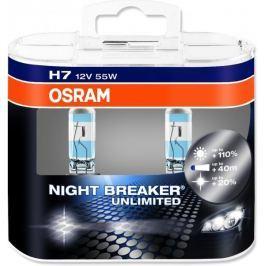 Osram żarówki samochodowe H7 Night Breaker Plus - 2 sztuki
