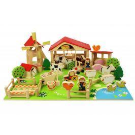 Bigjigs Toys wielka drewniana farma