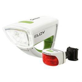 Sigma Eloy + Cuberider Combo white