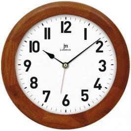 Lowell zegar ścienny 21034N, ciemnobrązowy