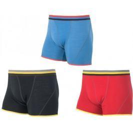 Sensor Bokserki Merino Wool 3-Pack Black / Red / Blue XXL