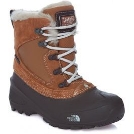 The North Face buty dziecięce Y Shellista Extreme Dachshund brown/Moonlight ivory 2 (33.5)